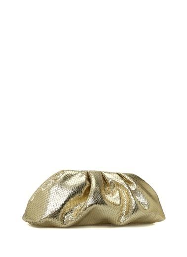 Giuseppe Zanotti Clutch / El Çantası Altın